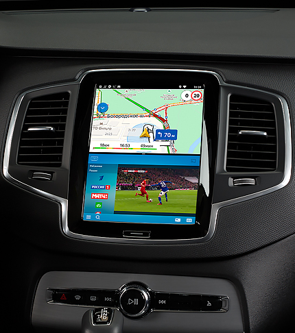 Навигация на базе ОС Android для Volvo XC90 II