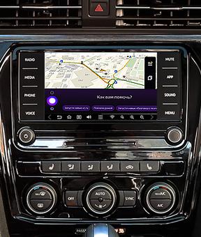 Навигация на базе ОС Android для Volkswagen Passat