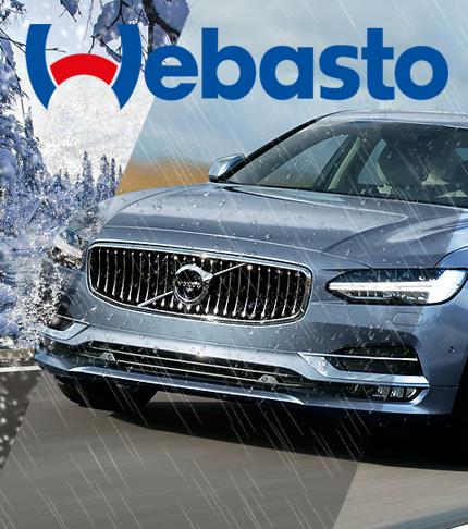 Установка Webasto на Volvo XC90 II