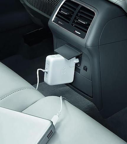 Установка электрических розеток 220V на Volkswagen Passat