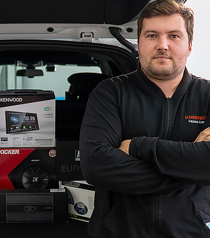 Установка и модернизация автозвука для Volvo XC90