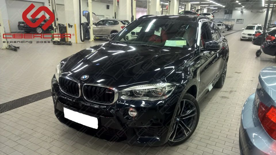 BMW X6 F16 M: i-Connect
