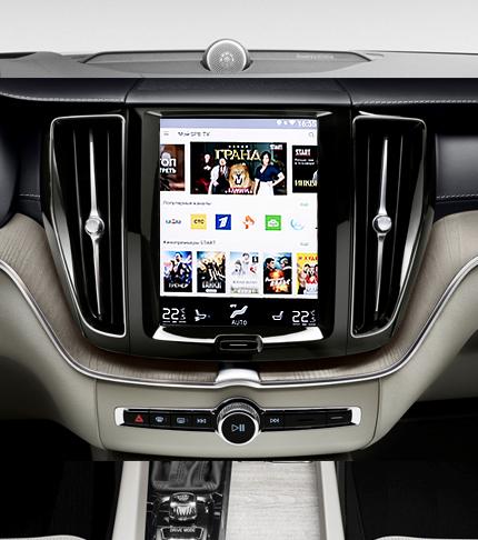 Подключение автомобильного цифрового ТВ-тюнера на Volvo XC90 II