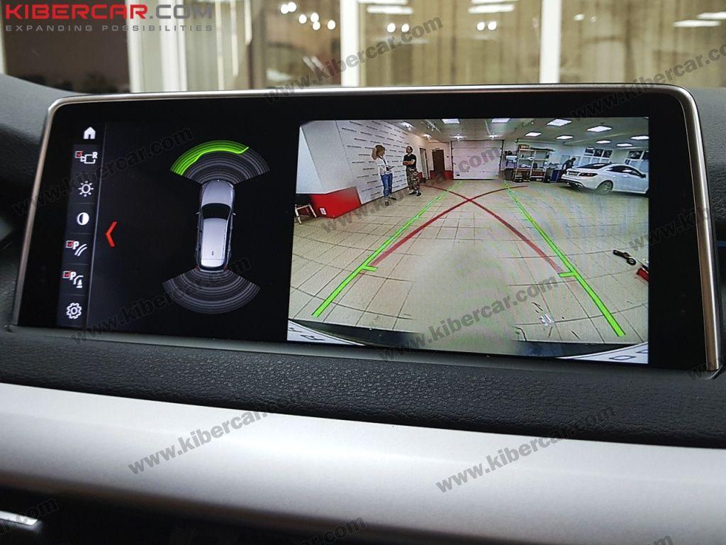 Вывод картинки с камеры заднего вида на штатный монитор